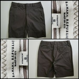 Banana Republic Martin Fit Bermuda Short Sz 10